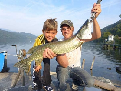 Fischen im Millstätter See